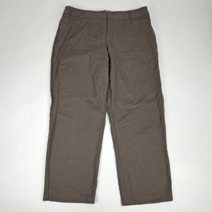 Dressbarn Womens Brown Pants Size 16
